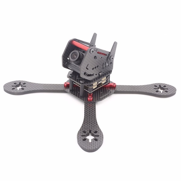 GEPRC GEP-ZX6 225mm Carbon Fiber Frame Kit with 12V 5V PDB Board