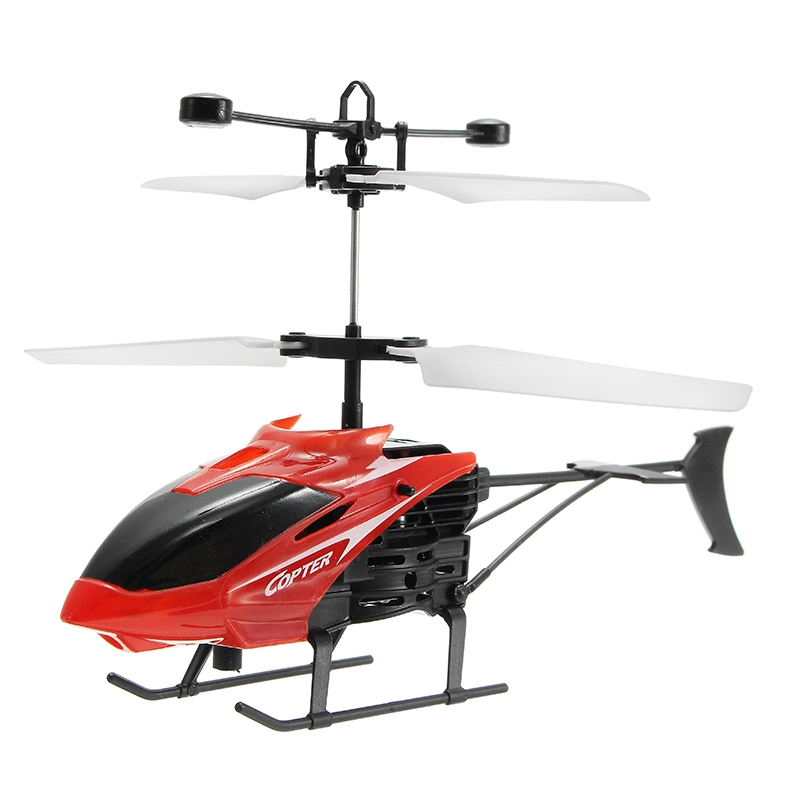 2CH Hand Induction Infrared Helicopter Flying Toy for Kid