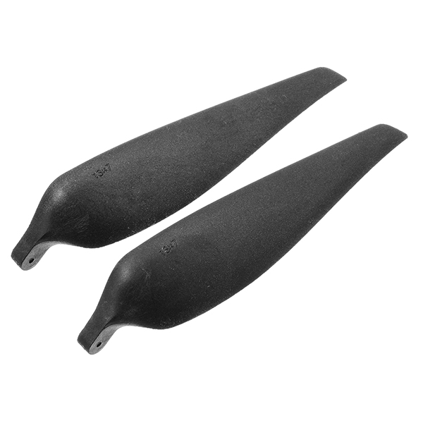 XFX 13*7 1370 Inch Black Nylon Folding Propeller Blade For RC Model