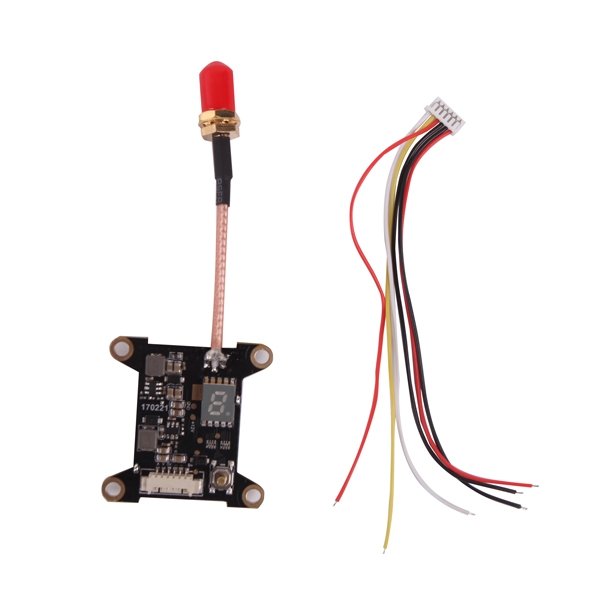 Moy Skyworks PA 5.8G 40CH 25mW 300mW Switchable Video Audio 25dbM FPV Transmitter 30.5x30.5mm
