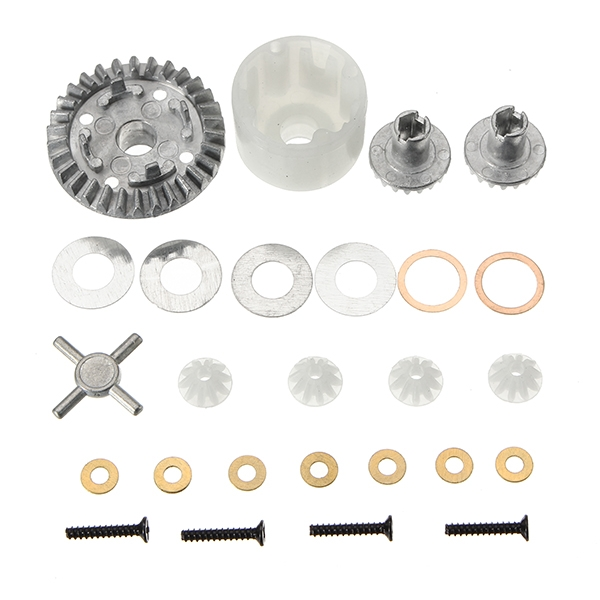 HBX 12891 1/12 Differential Gears set + Differential Case 12611R RC Car Parts