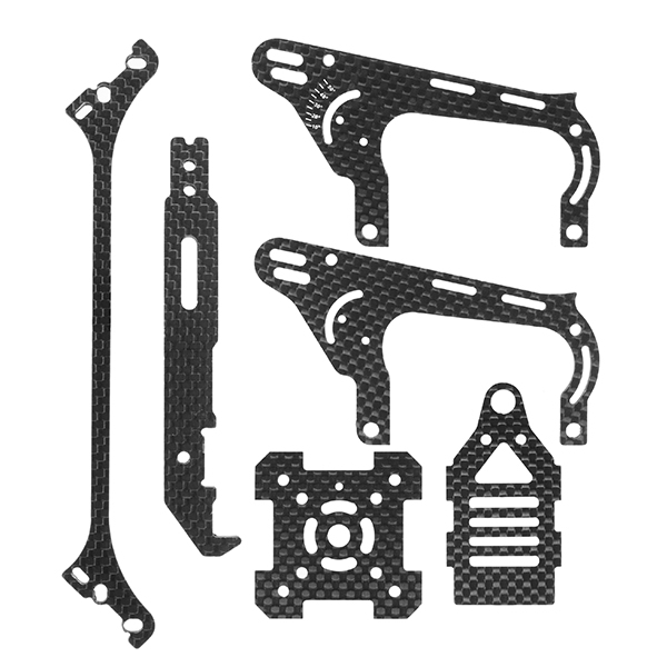 Realacc Real1 FPV Racing Frame Spare Parts Carbon Fiber Parts