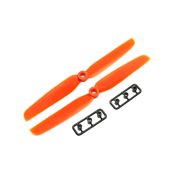 1 Pair WSX/Gemfan 6030 6.0x3.0 ABS Propeller for RC Drone FPV Racing Orange