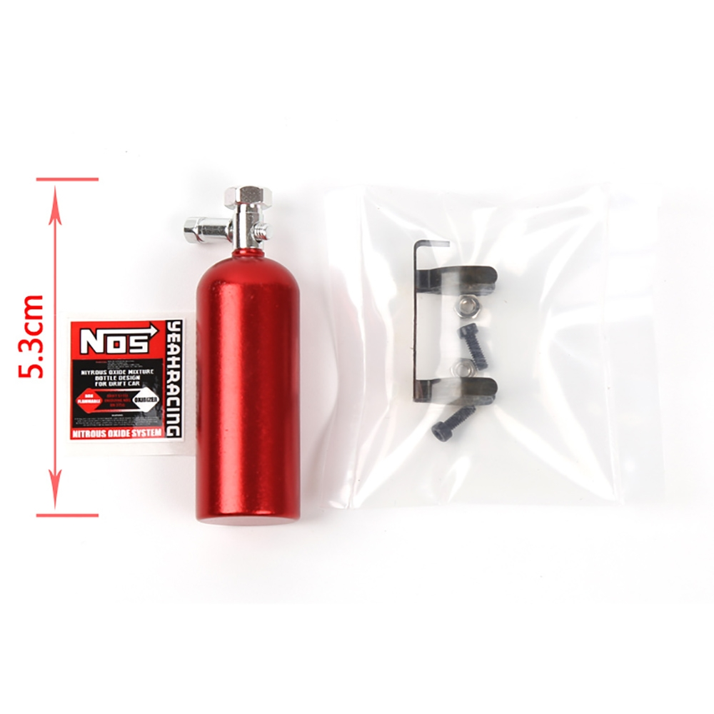 Model Climbing Car Simulation Decoration Parts Nos Bottle For 1/10 Trx4 Rr10 Drift RC Car Parts