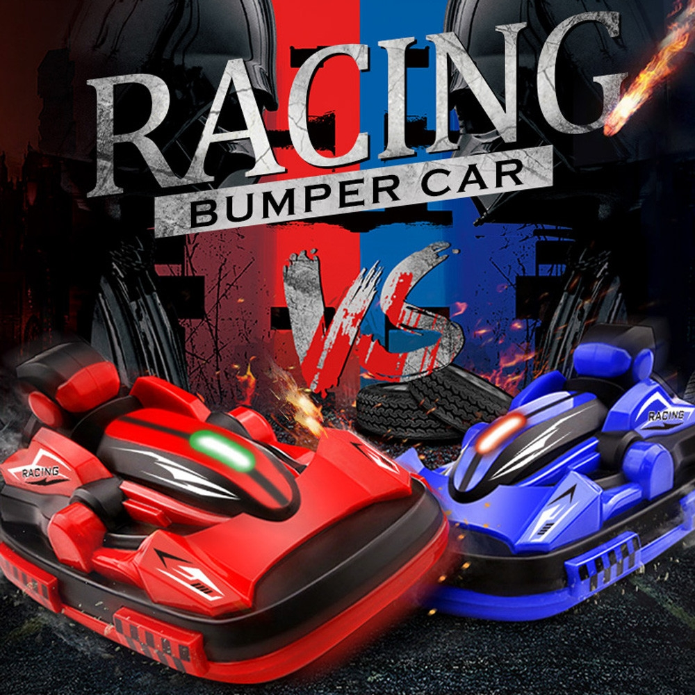 2PCS Bumper RC Car 2.4G 4CH Racing Game Boys Toy Remote Control electric Radio Vehicles
