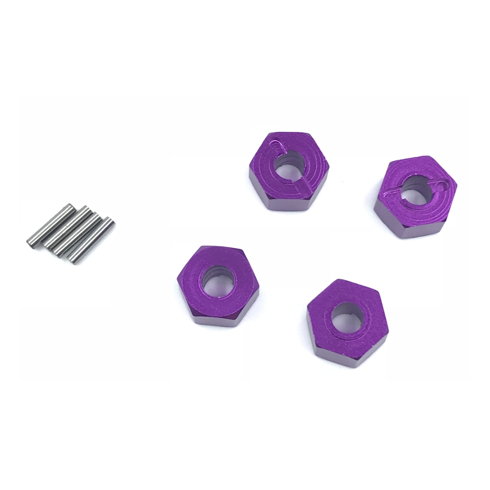 12X7mm Hexagon Connector Set For 1/10 WLtoys AXAIL YETI RC Car Parts