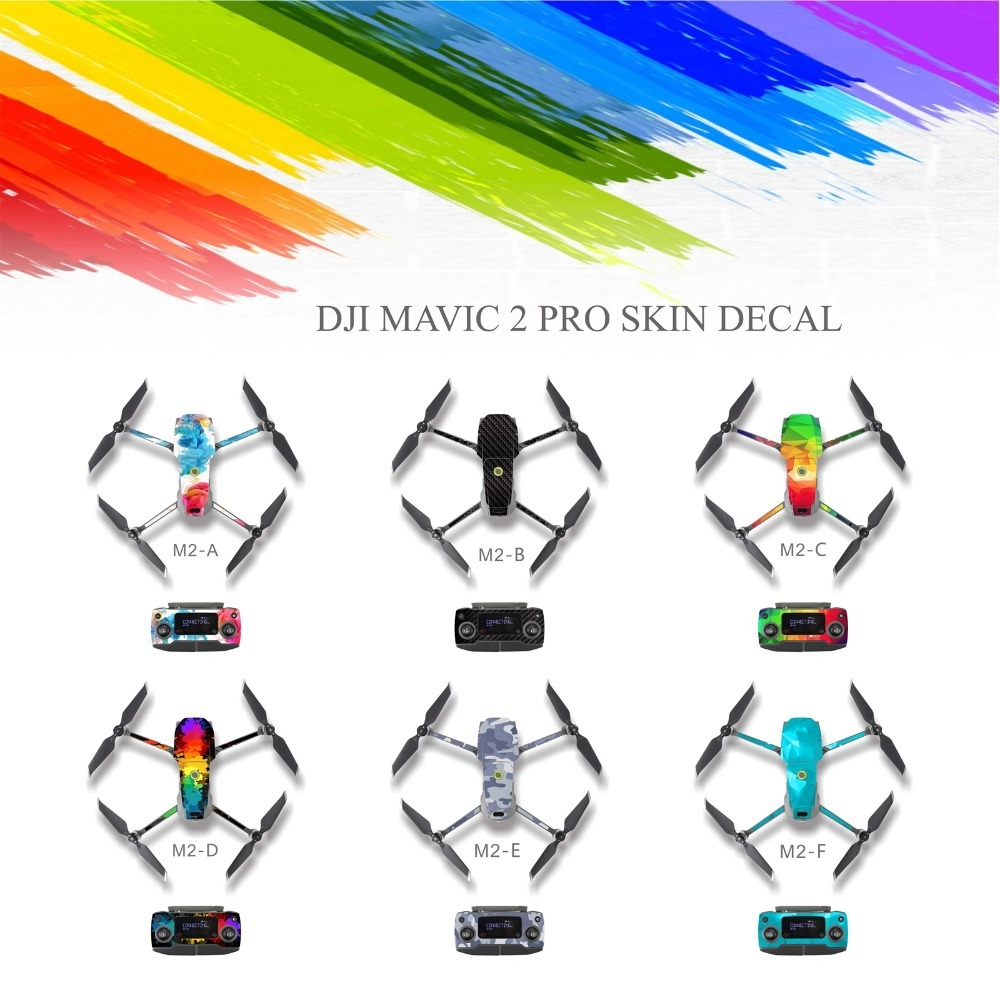 PVC Water-proof Sticker for DJI Mavic 2 Pro/ Zoom RC Drone