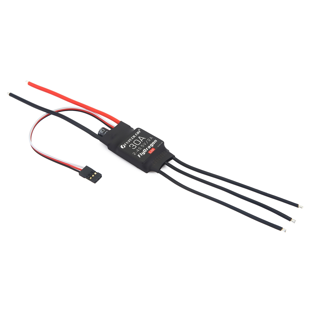 Flycolor FlyDragon Lite 30A 2-4S Brushless ESC With 5V 2A BEC for RC Airplane