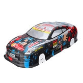 1/10 RC On-Road Drift Car Body Painted PVC Shell for Nissan GTR Vehicle Parts