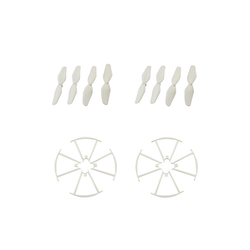 Propeller Blade Set Props Guard Propetction Cover 8Pcs for SYMA X20 X20W RC Drone Quadcopter