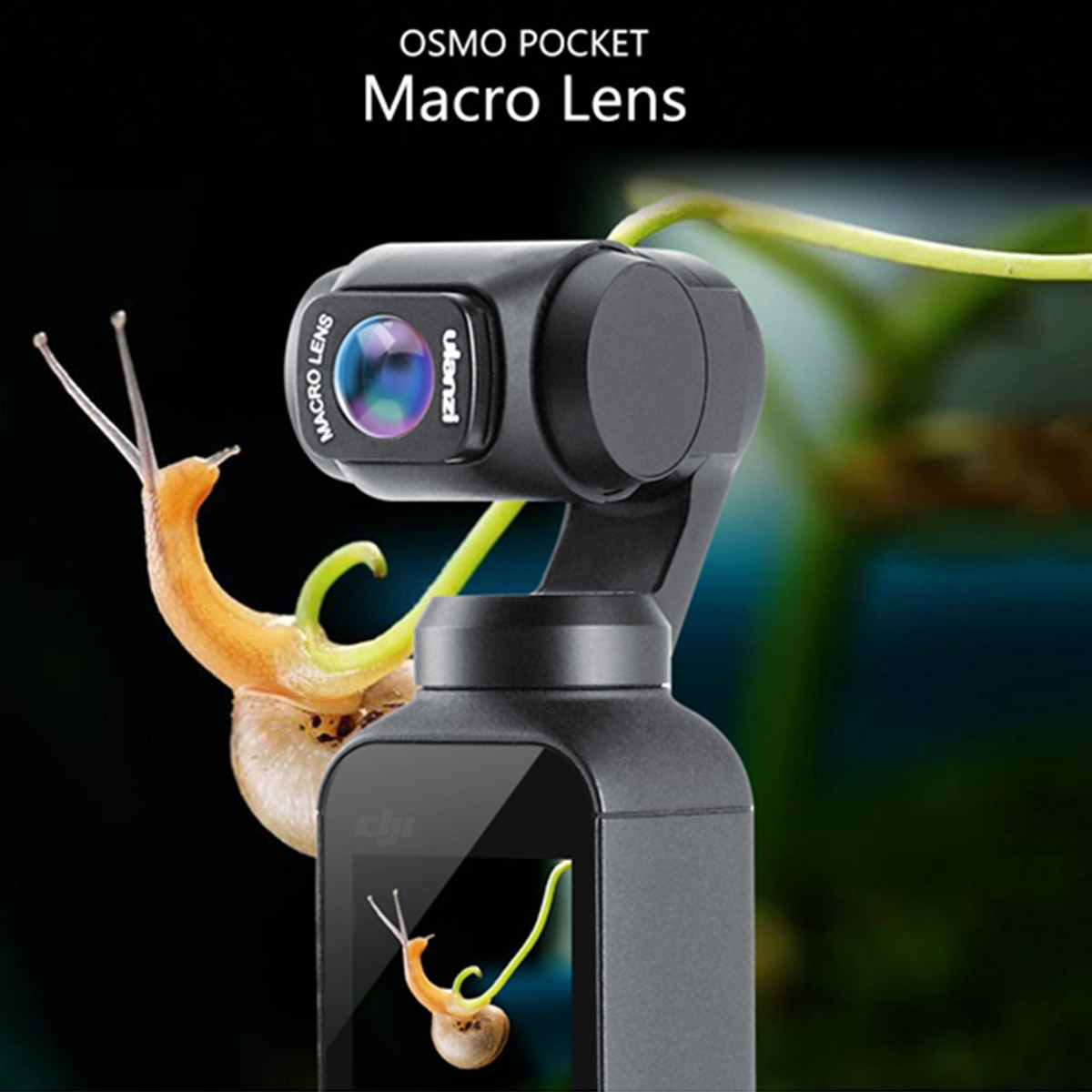 Ulanzi OP-6 Macro Lens HD Magnetic For DJI Osmo Pocket Camera