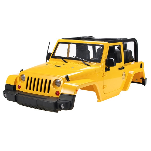HG 1/10 HG-P406 2.4G 4WD JEEP Crawler Car Shell