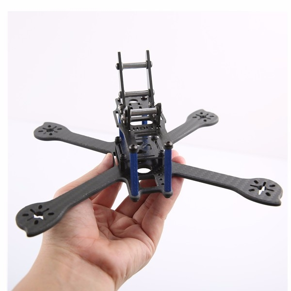 iX5-200MM 5 Inch 200mm Carbon Fiber Frame Kit w/ GOPRO Mount