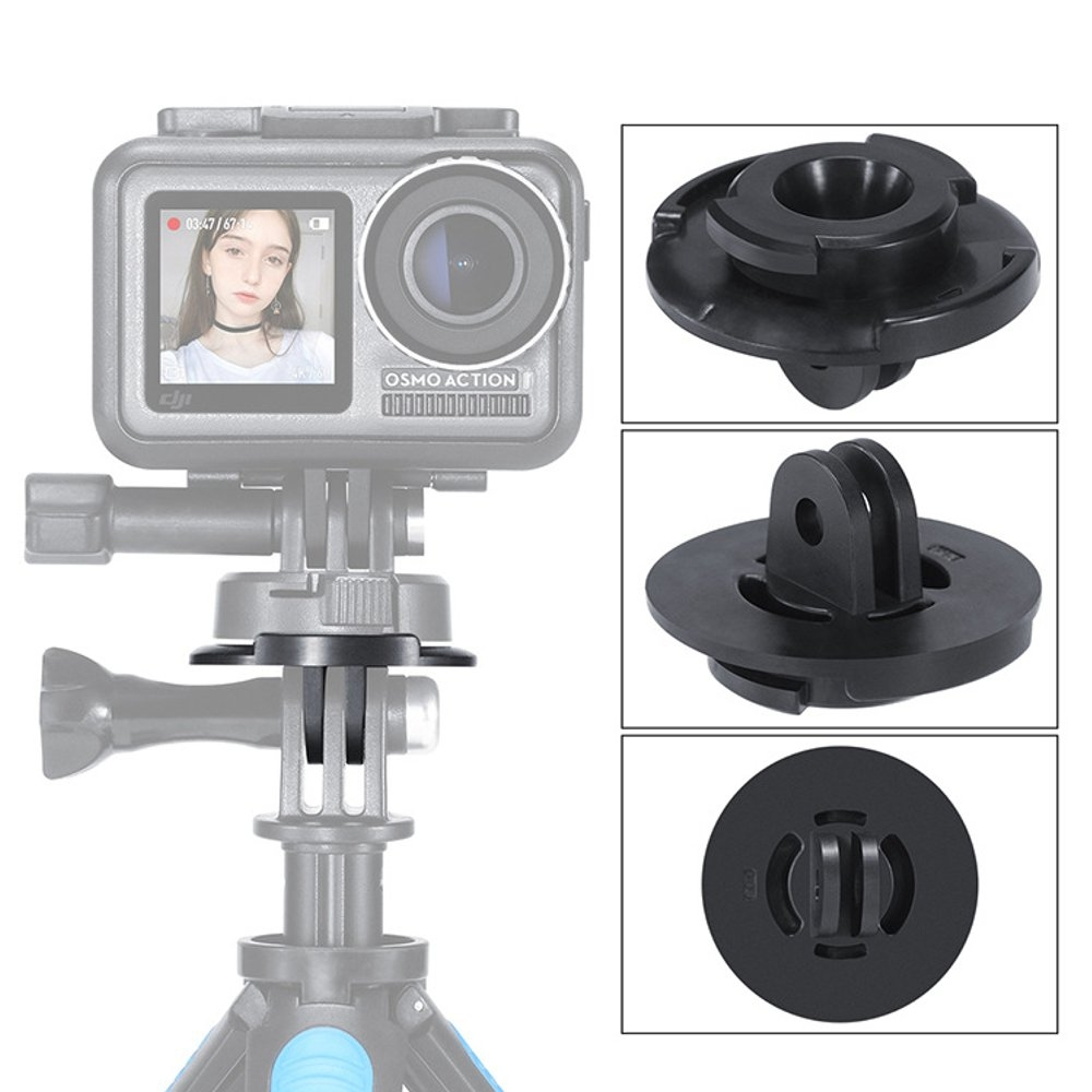 ULANZI U-16 Quick Release Tripod Mount Adapter for GoPro Hero 5/6/7 To DJI OSMO Action Camera
