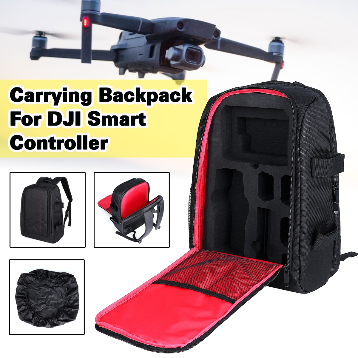 Portable Storage Backpack with Waterproof Bag For DJI Mavic 2