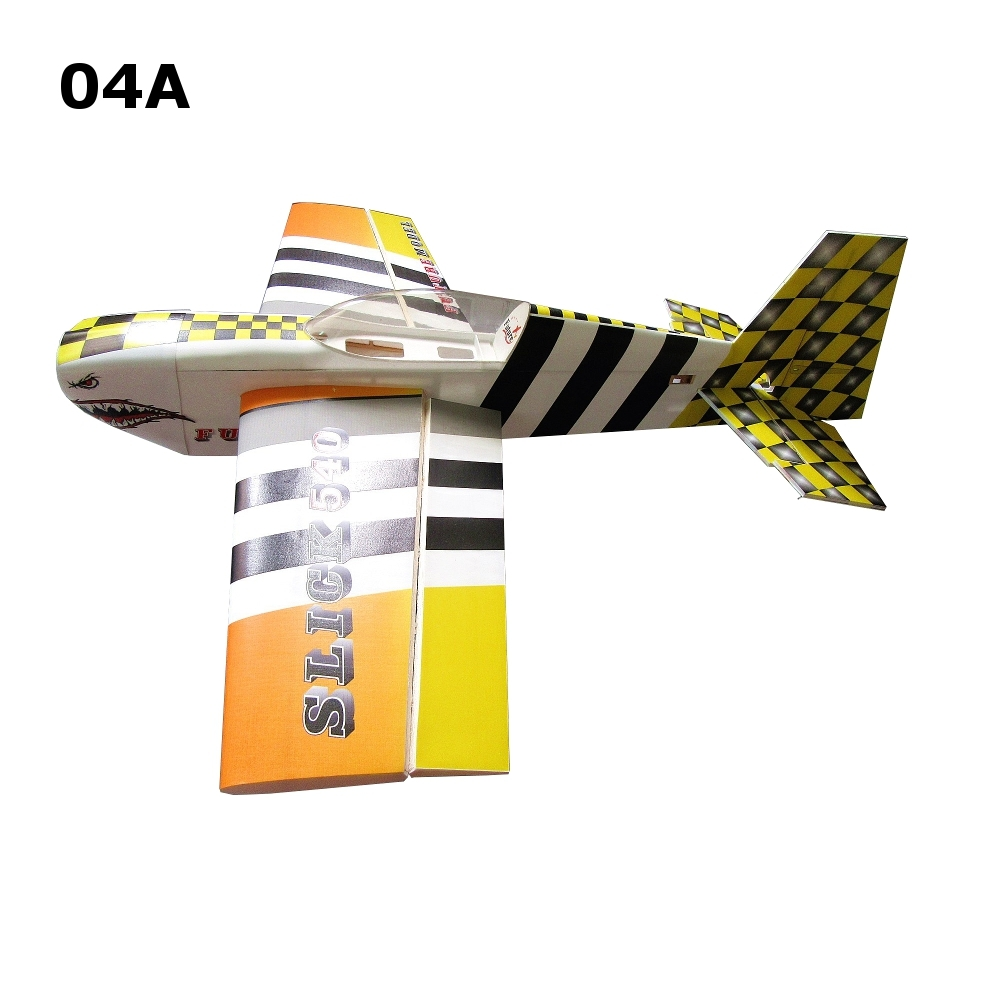 Future PP SLICK540 38 Inch 15E 965mm Wingspan RC Airplane KIT 3D Aircraft Plane