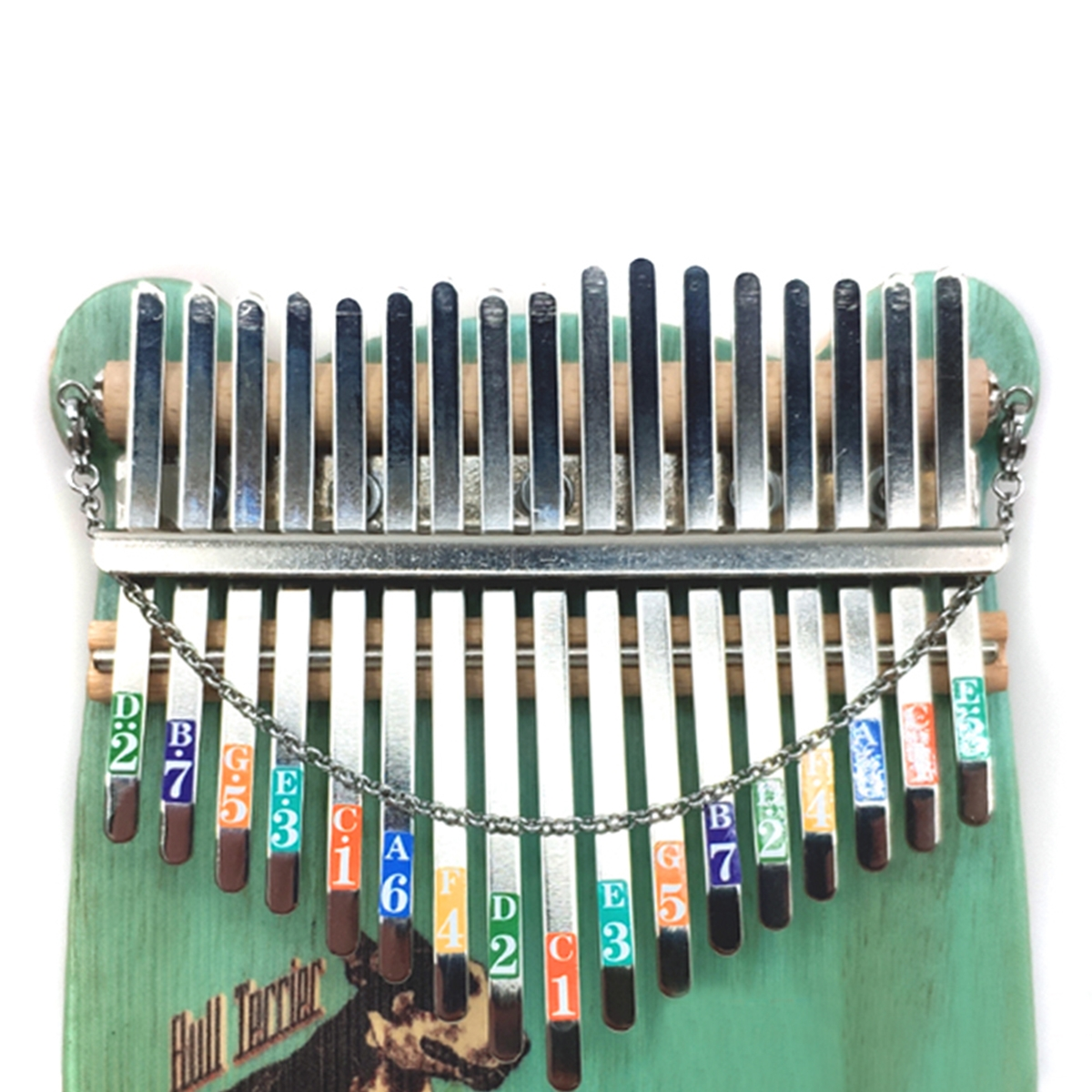 Thumb Piano Finger Percussion Mbira Vibration Chain