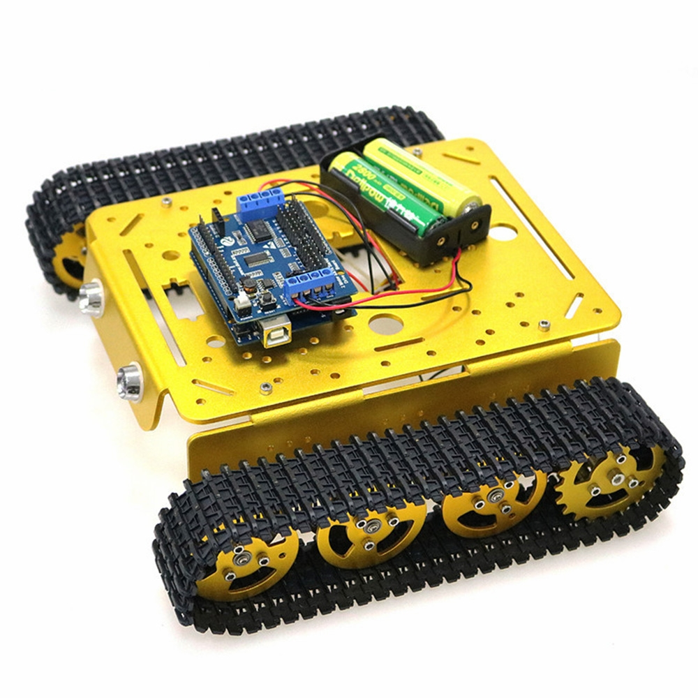 DOIT T200 DIY Smart WiFi Control RC Robot Car Tank Chasiss