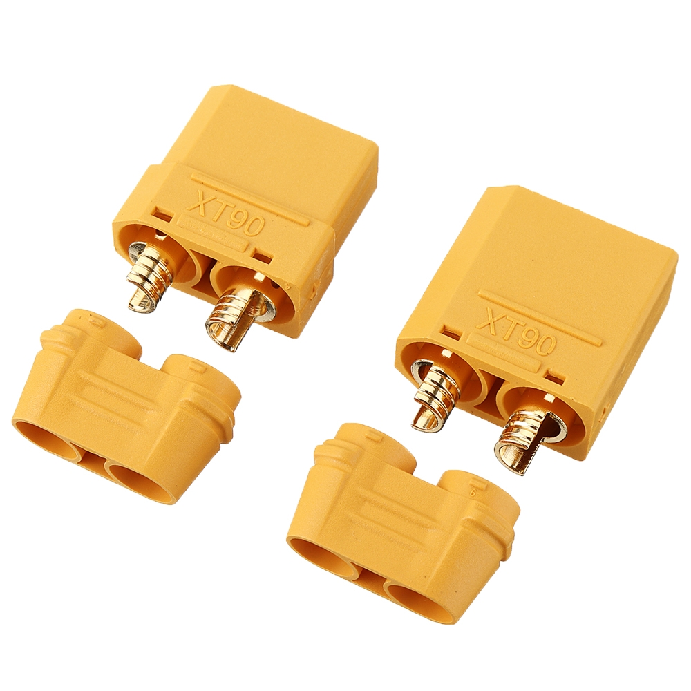 1Pair Amass XT90H Male & Female Plug Connectors Adapter Plug for RC Model Lipo Battery
