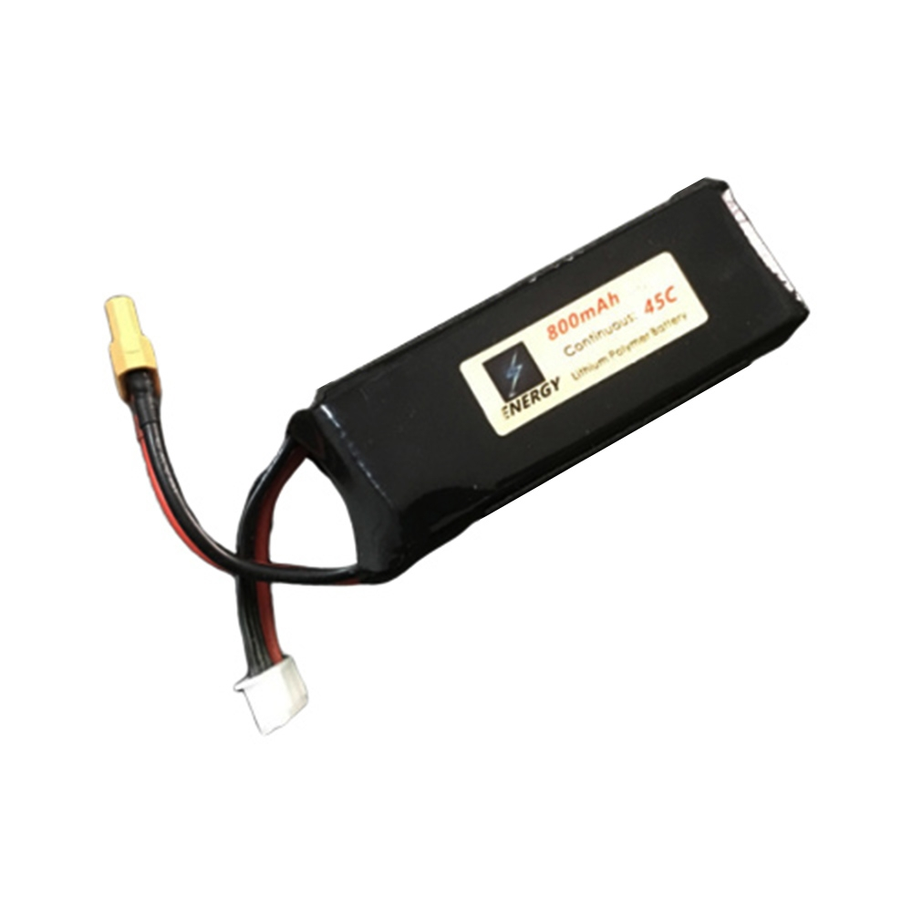 ENERGY 11.1V 800mAh 45C 3S XT60 Plug Lipo Battery For OMPHOBBY M2 RC Helicopter