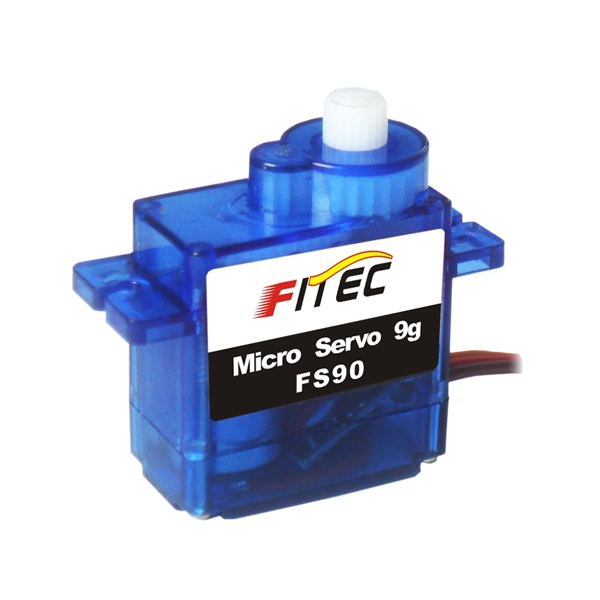 Feetech/FITEC FS90 Micro 9g Servo Support 4.8V 6V 1.3kg for RC Model Airplane Helicopter Robot