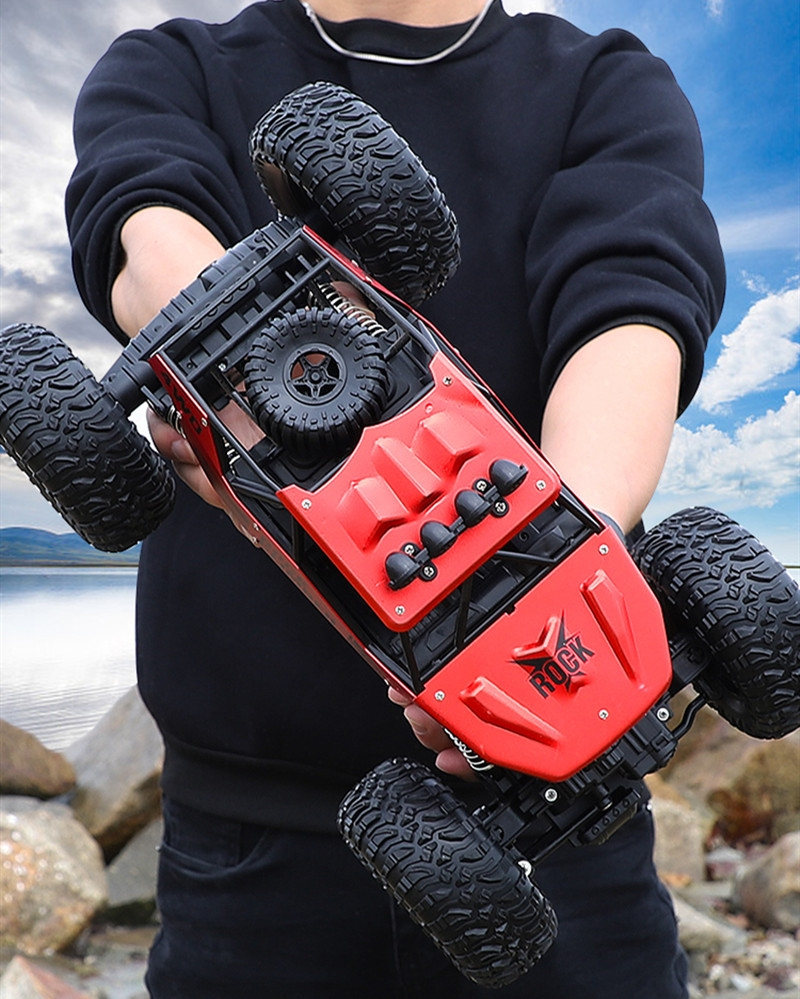 1:12 2.4Ghz Radio 4WD RC Car Rechargeable Remote Control High Speed Off Road Monster Trucks Model Vehicles Toy For Kids