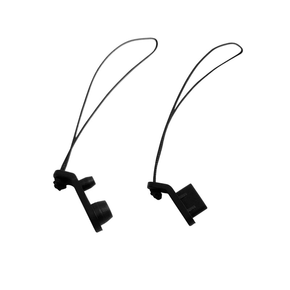 2pcs URUAV AC01 Silicone Dustproof Cover Plug Combo With String for DJI FPV Digital Googles