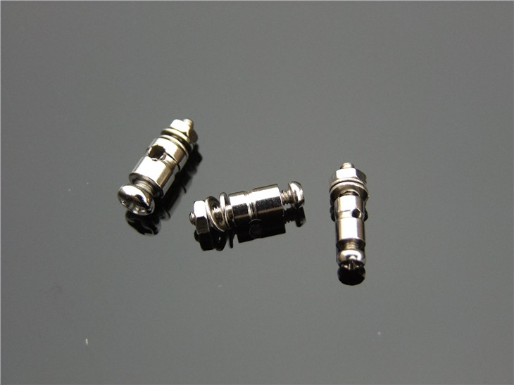 1.3mm 1.8mm 2.1mm Adjustable Pushrod Connectors Linkage Stoppers For RC Airplane