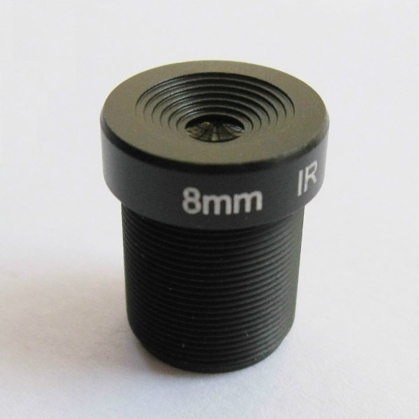 8MM 3MP 1/2.7 M12 45 Degree IR Sensitive FPV Camera Lens