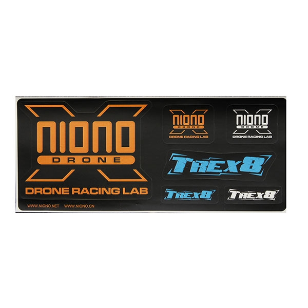 NIONO TREX8.6 220mm RC Drone FPV Racing Frame Spare Part Titan OP PACK with 4mm Arm Kit