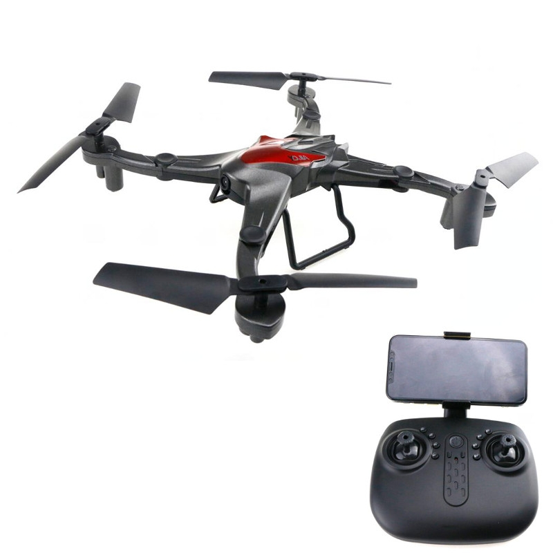 YDJA D70WG WiFi FPV with 0.3MP Camera Foldable Arms Altitude Hold Mode RC Drone Quadcopter RTF