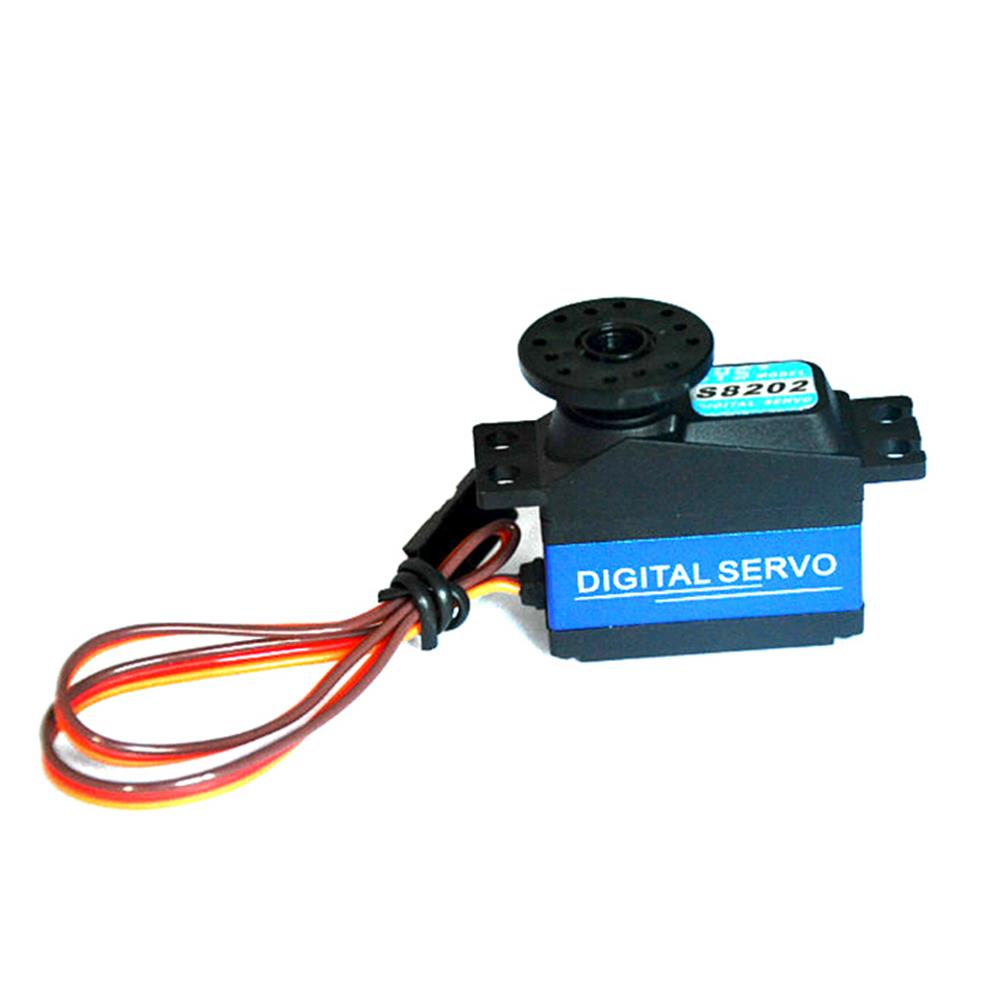 CYS-S8202 High Torque Metal Gear Digital Steering Servo for 450 500 RC Helicopter RC Off-Road Car