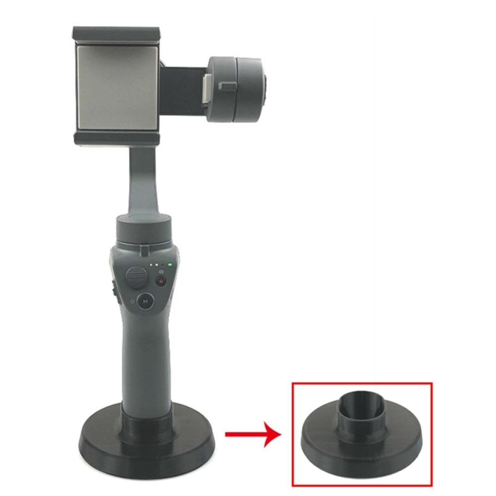 3D Printed Circular Base Holder Mount for DJI OSMO Mobile 2 Gimbal