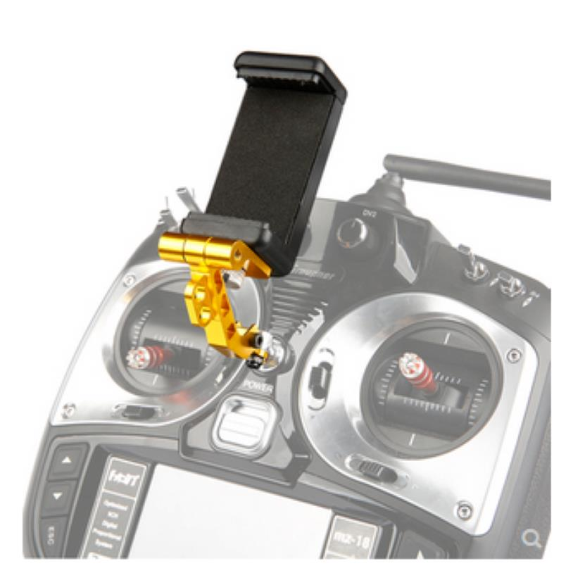 Universal FPV Fixed Mount Base Holder For 7 Inch Screen Flysky RadioLink Remote Control Arm Phone