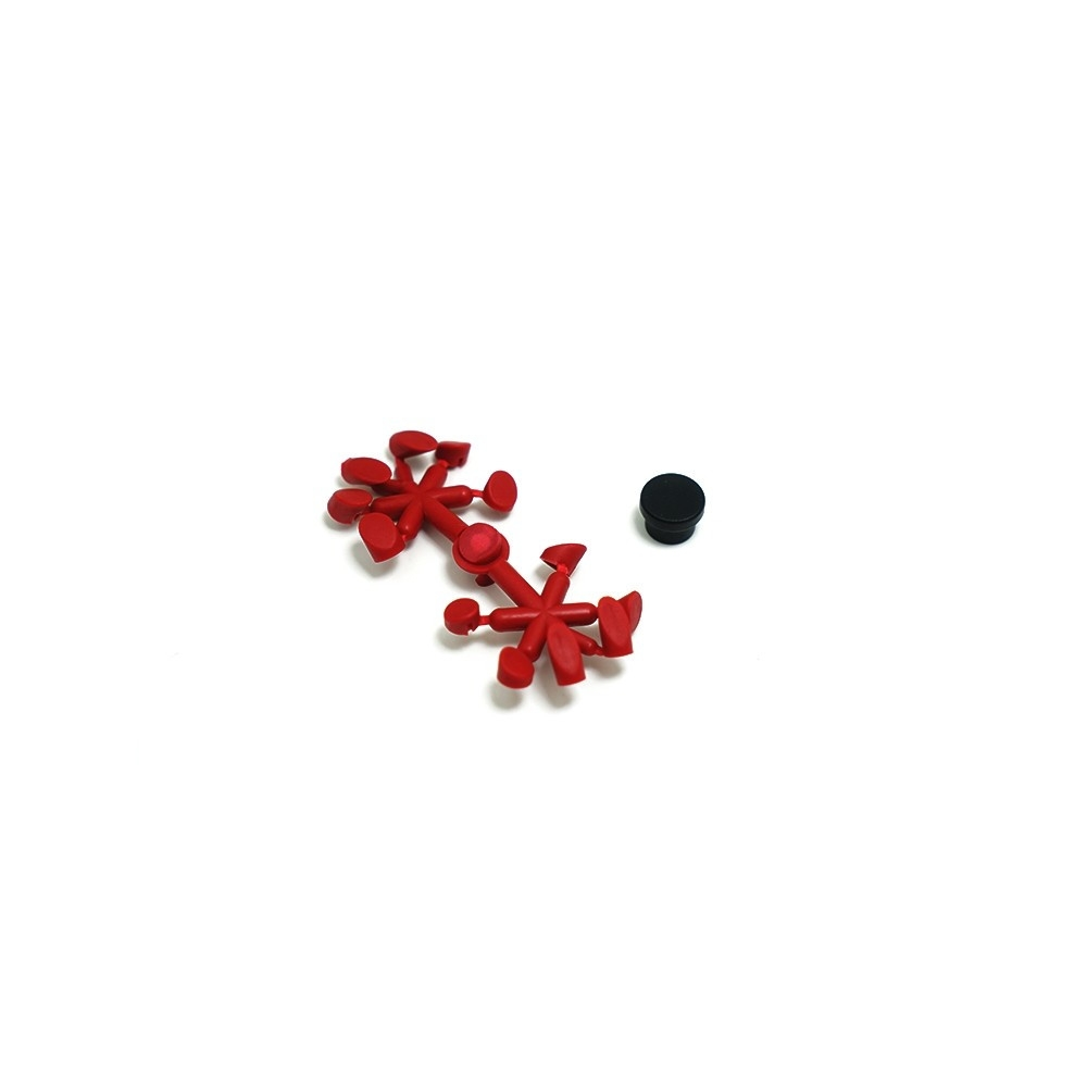 FrSky Taranis X-Lite Transmitter Parts Replacement Screw Hole Cover Plug Sets for RC Drone