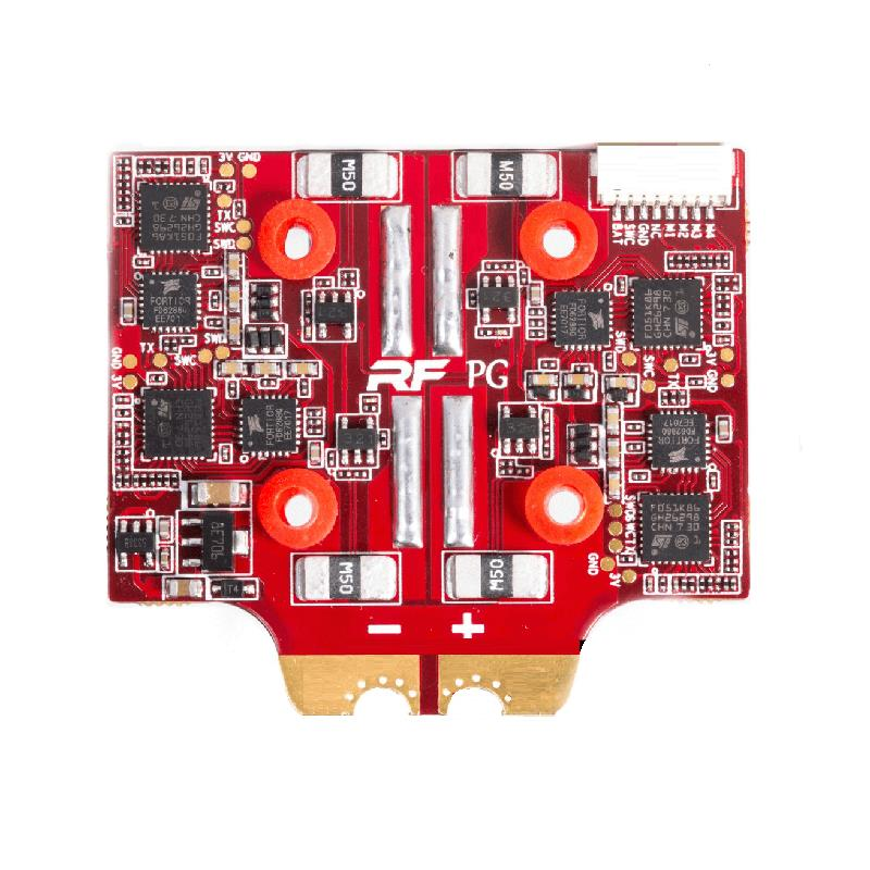 FlightOne/RaceFlight Spark32 V2 50A Blheli_32 3-6S 4 IN 1 Brushless ESC 20x20mm for RC Drone FPV Racing