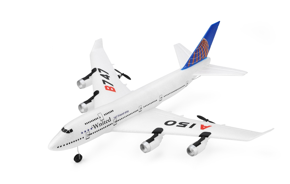 WLtoys XK A150 YW Boeing B747 510mm Wingspan 2.4GHz 3CH EPP RC Airplane Fixed Wing RTF Scale Aeromodelling