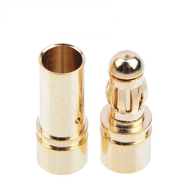 20 Pairs 3.5mm Gold Bullet Banana Connector Plug Male & Female For ESC Battery Motor