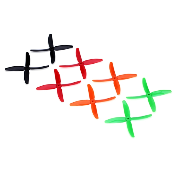 DYS X50404 5040 4 Blade PC Propeller CW/CCW For 200 250 280 320 RC Multirotors
