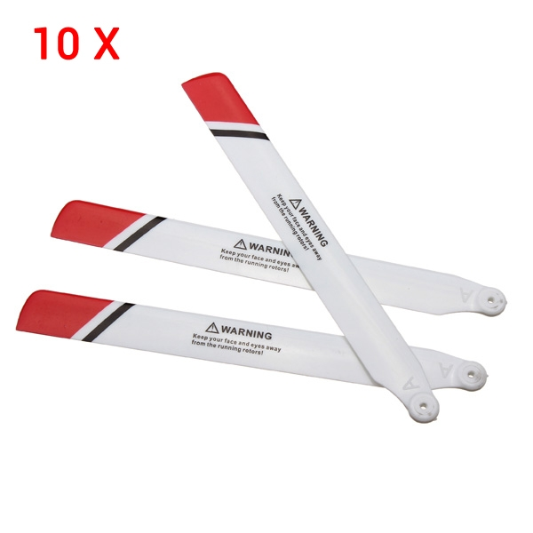 WLtoys V931 RC Helicopter Parts Main Blade For Wltoys V931 XK K123 10 Sets